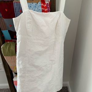 White Lily Pulitzer Dress with removable straps
